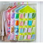 New Washable Clothing Socks Underwear Hanging Storage Bags Cabinet Wardrobe - CB