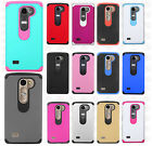 LG Tribute 2 HARD Astronoot Hybrid Rubber Silicone Case Cover +Screen Protector