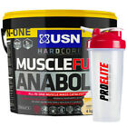 USN Muscle Fuel Anabolic 4Kg / 4000g - All Flavours + Free Shaker