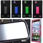 NP CITY Faceplate BUILT IN SCREEN PROTECTOR ARMOR Case For ZTE Lever LTE / Z936L
