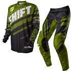 Shift 2015 Motocross Hose Jersey Kinder Assault Race Schwarz/grÃŒn Enduro MTB