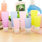 Travel Silicone Packing Bottle Shower Lotion Bath Shampoo Tube Container 38-80ml