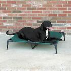 Dog Pet go anywhere outdoor portable bed elevated cooling Cot w/ UV fabric 4 sz