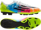 New Mens Adidas F5 TRX FG Messi Football Sports Boots Moulded Studs Soccer
