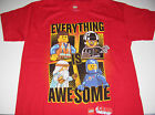 """New Lego Movie shirt boys size XS-XL """"Everything is Awesome!"""" Emmet Benny"""