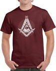 226 Illuminati mens T-shirt secret society free mason elites All Sizes/Colors