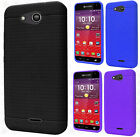 For Kyocera Hydro Wave C6740 Rugged Rubber SILICONE Soft Gel Skin Case Cover