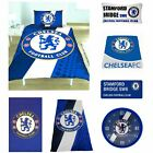 OFFICIAL CHELSEA FOOTBALL DUVET COVER SETS BOYS BEDROOM + RUG, LAMP, STREET SIGN