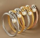 more optional new fashion stainless steeel colorful wire cable bracelet bangle