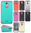 For Alcatel OneTouch Pop Astro HARD Astronoot Rubber Silicone Case +Screen Guard