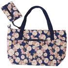 Fashion Women Ladies Casual Shoulder Bag Floral Printed Canvas Bag Handbags - CB