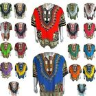 Dashiki African T-Shirt Traditional Hippie Poncho Mexican Caftan Men Women NEW