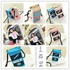 Novelty Girls Cartons Shoulder Bag Canvas Messenger Bags Chic Crossbody Bags S