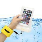 Waterproof Case Underwater Pouch Bag+Foam Floating Strap For iPhone Cell Phone