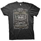 Vintage Aged To Perfection 1946 - Distressed Print - 69th Birthday Gift T-shirt