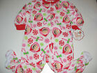 Elf on the Shelf pajamas with feet blanket sleeper Toddler girls 2T 3T 4T 5T