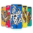 HEAD CASE STAMPE ANIMALI STRAPPATE COVER IN GEL PER APPLE iPOD TOUCH 6G 6TH GEN