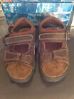 CHRISTOPHE AUGUIN BROWN LEATHER DECK SANDALS   39 & 45    BNIB