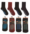 Mens Non Skid Thermal Slipper Socks ~ 7-11 / EUR 41-46