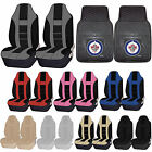 NHL Winnipeg Jets Rubber Floor Mat High Back Seat Cover Universal Combo $59.95 USD on eBay