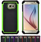 Shock Proof Hybrid Hard Armour Builder Case Cover For Samsung Galaxy S6 SM-G920