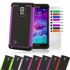 Shock Proof Hybrid Armour Builder Case Cover For Samsung Galaxy Note 4 SM-N910