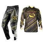 Answer Motocross Hose MSR Jersey ROCKSTAR ENERGY schwarz Enduro MTB Quad