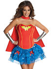 Sexy Adult Wonder Woman Super Hero Corset Halloween Costume Outfit XS-L