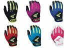 New 2016 Easton HF3 Girls YOUTH Fastpitch Batting Gloves Easton A121919-A121928