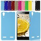 "Matte Rubberized Hard Plastic Fitted Back Case Cover Skin For 5"" Lenovo K3 A6000"