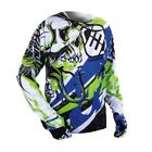 Shot Freegun Jersey 2015 CONTACTO US azul-verde Motocross Enduro Cross MTB Quad