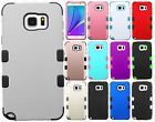 For Samsung Galaxy Note 5 IMPACT TUFF HYBRID Protector Skin Cover +Screen Guard