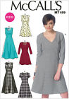 McCall's 7189 Sewing Pattern to MAKE Misses & Petite Fitted Dress w/Flared Skirt