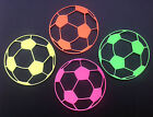 Football Die Cuts - Sets of 12 in assorted colours for Card Toppers, crafting
