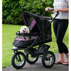 Pet Gear - NV NO ZIP DOG STROLLER -Eazy Locking Latch,  Weather Cover