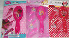 Disney Minnie Mouse Princess Doc McStuffins Hairbrush & Clips Set 3 Yrs + New