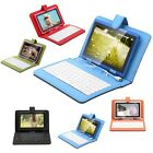 "IRULU 7"" Google Android Multi Color Tablet PC Quad Core 8GB w/ Gridding Keyboard"