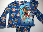 New Paw Patrol flannel pajamas boys toddler sizes 12m 18m 24m 3T 4T 5T Chase PJs