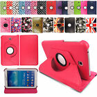 "Rotating Leather Case Cover For Samsung Galaxy Tablet Tab 4 7.0""/8.0""/10.1""Inch"