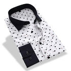 Men's Classic Luxury Stylish Slim Fit Long Sleeve Casual Shirt Dress Shirts Tops