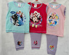 Girls Toddlers Disney Pj's Pyjamas Frozen Minnie Princess 2 Pc Set 12mth - 4-5y