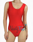 Sexy Retro Shiny Spandex Baywatch Style Sleeveless Leotard Romper Costume S-3X