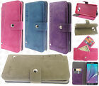 Samsung Galaxy Note 5 Premium Slide Out Pocket Wallet Pouch Cover + Screen Guard