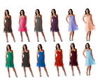 Formal Dress Pleated Halter Evening Gown Bridesmaid Wedding Party Prom 0 - 18