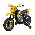 Kids Electric Motorbike Children 6V Battery Power Scooter Ride On Motorcycle New