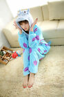 Disney Monster cartoon characters Unisex Onesie Fancy Dress Costume Hoodies