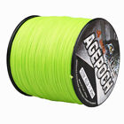 Agepoch 100-2000M 6-300LB Fluorescent Green 100%PE Dyneema Braided Fishing Line