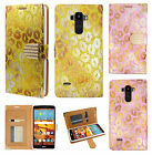 For LG G Stylo Premium Leather Wallet Case Flip Phone Cover Lips + Screen Guard