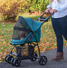 NEW Pet Gear Cat Dog NO-ZIP Stroller  PG8030NZ 4 Wheel Zipperless Entry