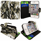 New Leather Wallet Flip Case Cover For APPLE iPod Touch 4th 5th 6th Generation